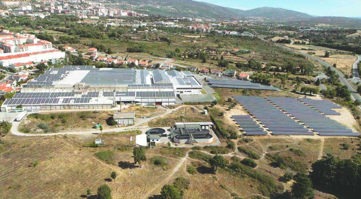 Produktion mit Solarenergie