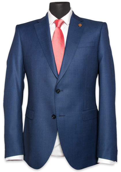 Graz Pfauenauge Navy Anzug-Jacket