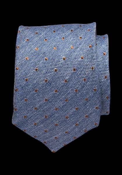Tropea Krawatte Kleinmuster (Punkte) Navy