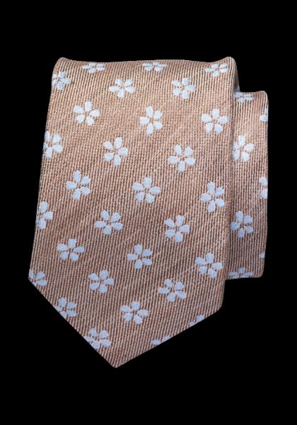 Lercara Krawatte Mittelbraun