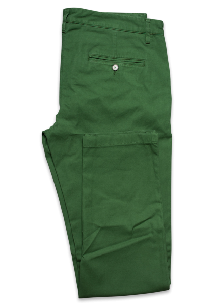 Korsika Chino Grass Green Vegan