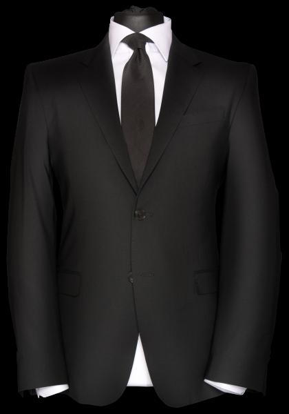 Oslo Anzug-Jacket Schwarz