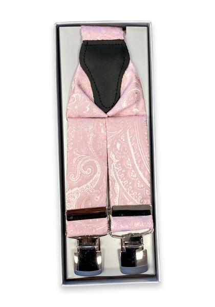 Sierra Hosenträger - alt rosé - Seide
