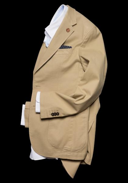 Korsika Anzug-Sakko Beige Vegan