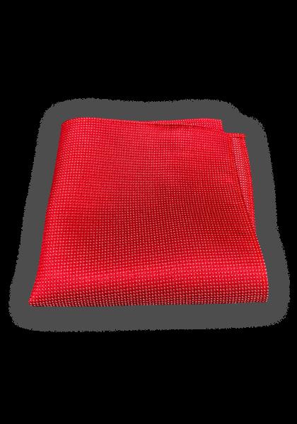 Capua Einstecktuch Rot