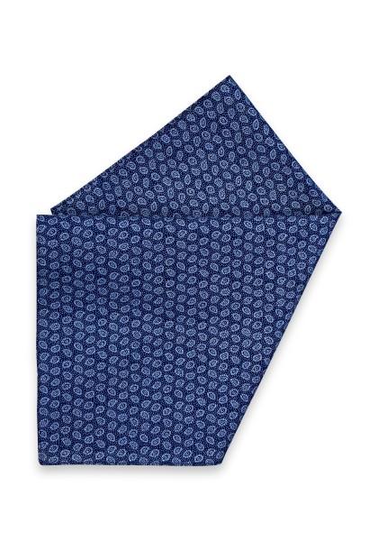 Livata blau Paisley Einstecktuch
