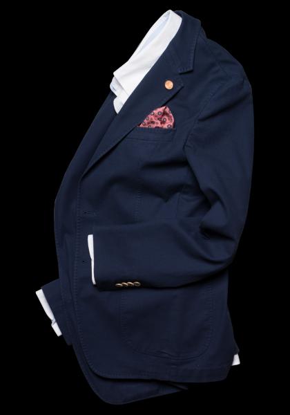 Korsika Anzug-Sakko Navy Vegan
