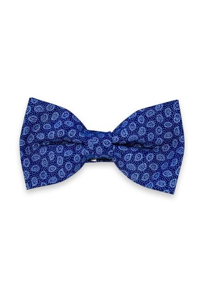 Livata Schleife blau Paisley