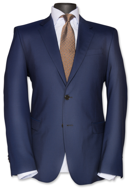 Atlanta Anzug-Jacket Stratoblau