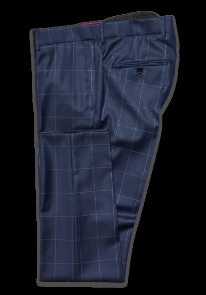 Cambridge Check Anzug-Hose Blue