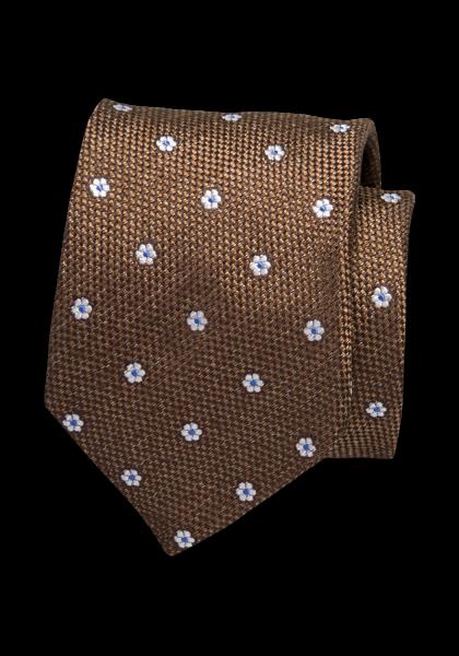 Trapani Krawatte Dunkelbraun