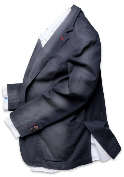 Cote D'Azur Anzug-Sakko Navy Vegan