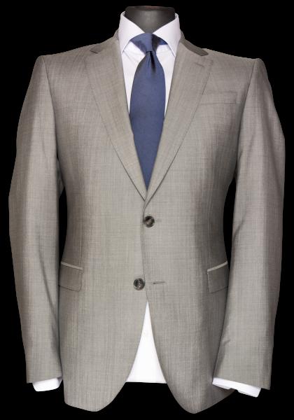 Paris Anzug-Jacket Hellgrau