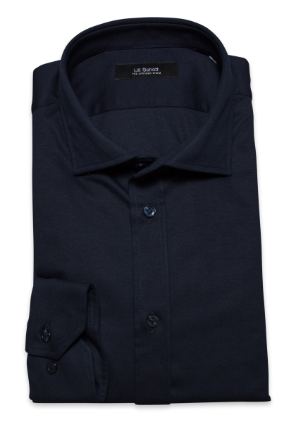 Jersey Hemd TOM - Interlock dark navy
