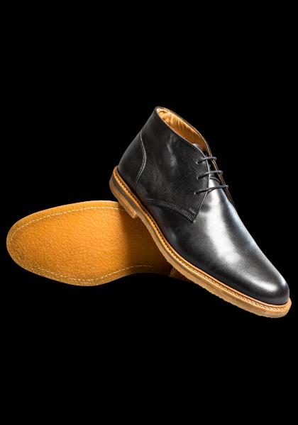 Savile Row Schuhe Schwarz
