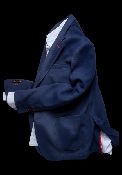 Dallas Jersey Sakko Blau