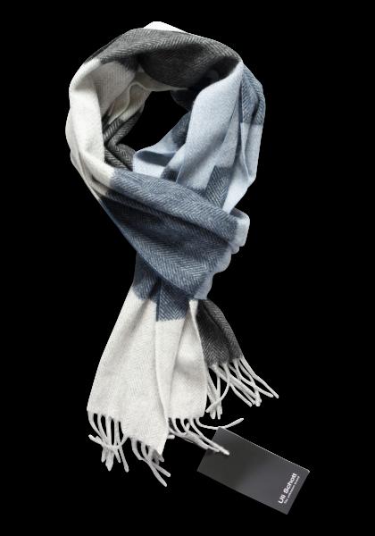 Limoges Schal Blau/Grau