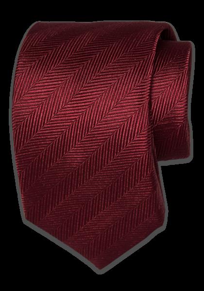 GAGNEF Bordeaux Fischgrat Krawatte