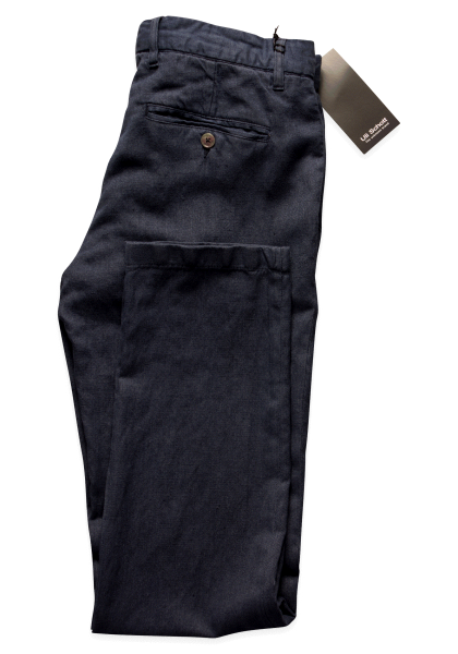 Kansas City Anzug-Chino Navy Vegan