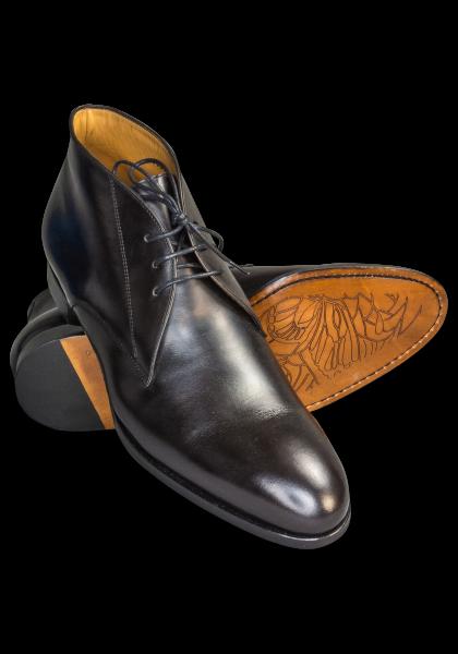 Wall Street Schuhe Schwarz