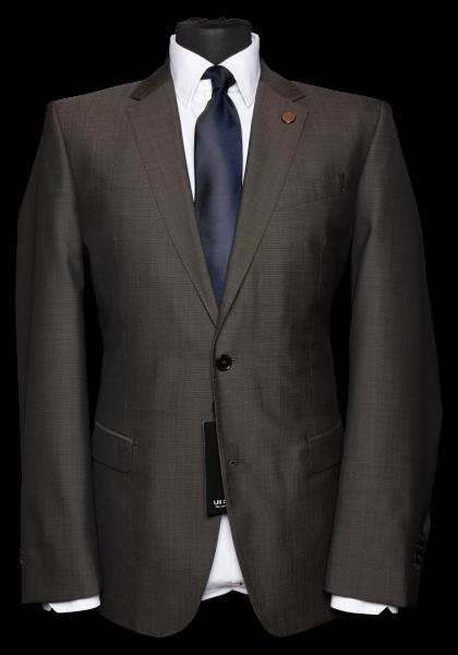 Genf Anzug-Jacket Braun