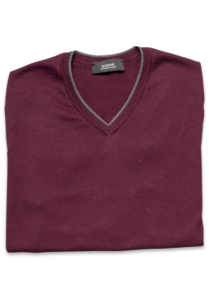 Flores Pullover Oxblood