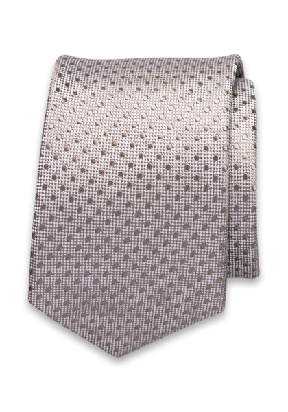 Corsara Krawatte Mittelbraun