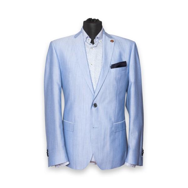 Palma Anzug-Jacket Lightblue