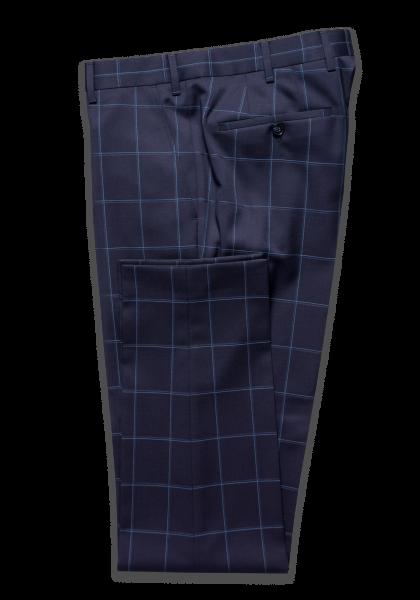 Kalmar Anzug-Hose Big Check Blue