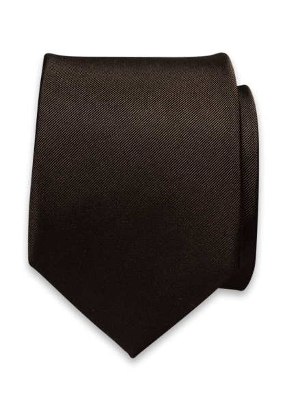 Napoli Krawatte Dunkelbraun