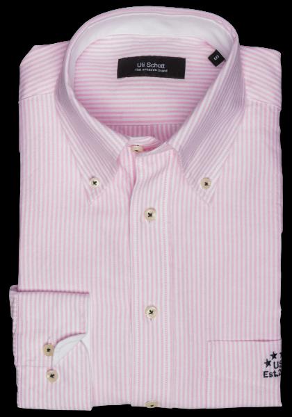 Soccer Shirt Rosé Streifen