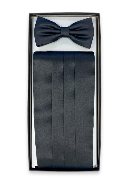 Como Kummerbund Set Black