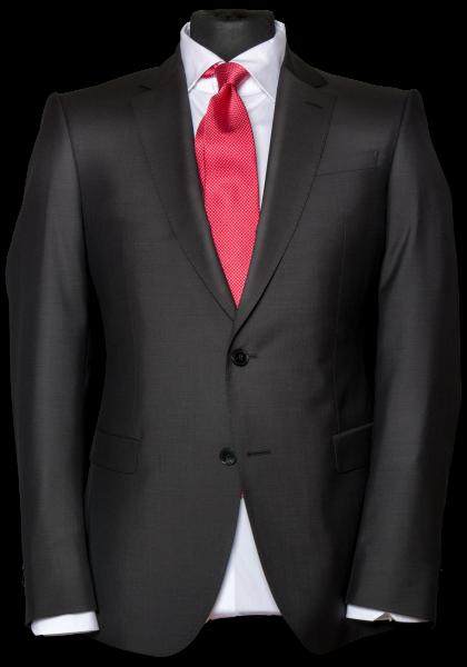 Paris Mohair Anzug-Jacket Dunkelbraun