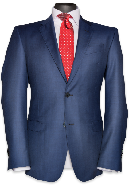 Chicago Anzug-Jacket Stratoblau